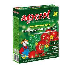Удобрения Agrecol для томатов и перца 1,2 кг