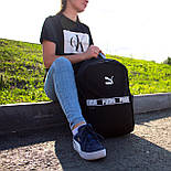 Рюкзак Puma Чорна, фото 4
