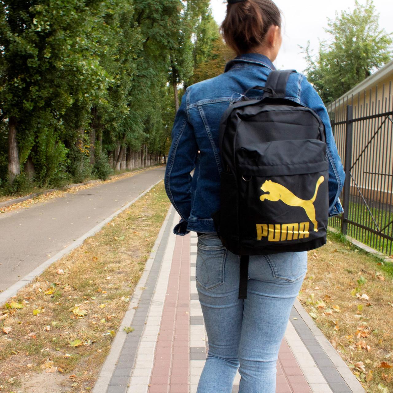 Рюкзак Puma Чорний Золото