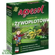 Удобрения Agrecol для  живых изгородей, декоративных деревьев и кустарников 1,2 кг