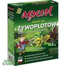 Удобрения 1,2 кг для  живых изгородей, декоративных деревьев и кустарников Agrecol