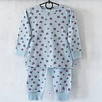 Піжама дитяча Donella Туреччина блакитна для дівчинки на 0/1 рік   1 шт.