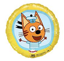 Фольгированный шар Agura (Агура) Три кота Коржик, 45 см (18'')