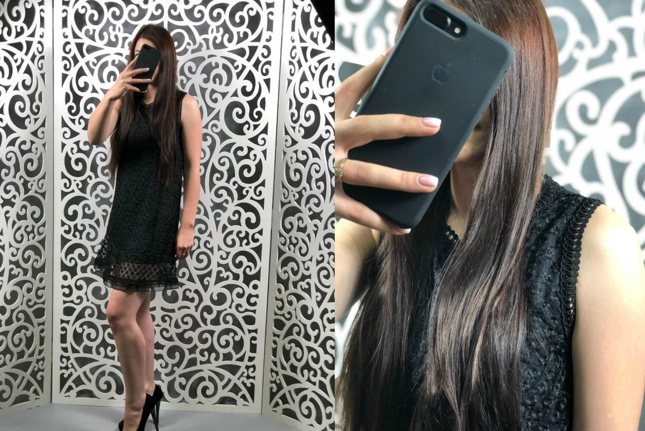 """Волшебное женское платье ткань """"Кружево на подкладке"""" 44 размер норма"""