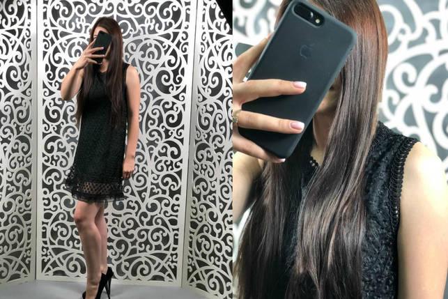 """Волшебное женское платье ткань """"Кружево на подкладке"""" 44 размер норма, фото 2"""