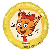 Фольгированный шар Agura (Агура) Три кота Карамелька, 45 см (18'')
