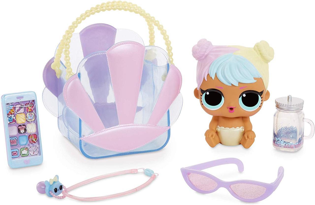 Кукла Лол сюрприз Беби Бон-Бон с аксессуарами L.O.L. Surprise! Ooh La La Baby Surprise- Lil Bon Bon MGA