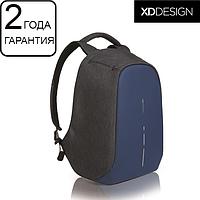 "Оригинал! Гарантия 2 года. Антивор рюкзак для ноутбука XD Design Bobby Compact Diver Blue 14"" (P705.535)"