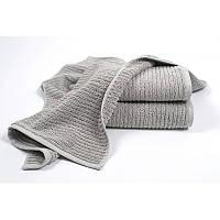 Полотенце махровое Penelope - Nora grey серый 50*70