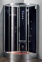 Гидромассажный бокс Grandehome WS102/S6 (чёрные задние стенки), 1000х1000х2240 мм