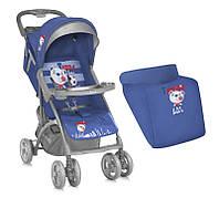 Детская прогулочная коляска  Bertoni Smarty Blue Soccer
