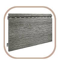 Панель фасадная Kerrafront сайдинг Vox 5.8, Виниловый, 6000, 2, 7, Серебряно-серый