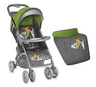 Детская прогулочная коляска  Bertoni Smarty Green&Grey Safari
