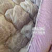 """Одеяло двухспальное на холлофайбере """"АРДА"""" Размер 175*215 см   Ковдра наповнювач холлофайбер. Стеганое одеяло"""