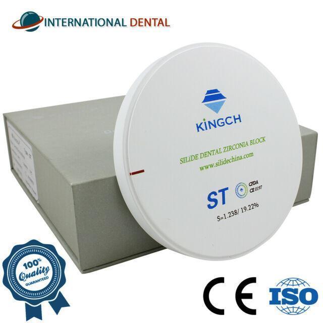 Циркониевый диск 98 мм. Толщина 18 мм ST Опаковый под нанесение