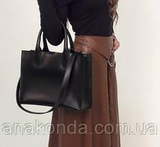 77-2 Натуральная кожа Женская сумка бордовая формат А4 Женская сумка кожаная марсала натуральная вишневая, фото 2