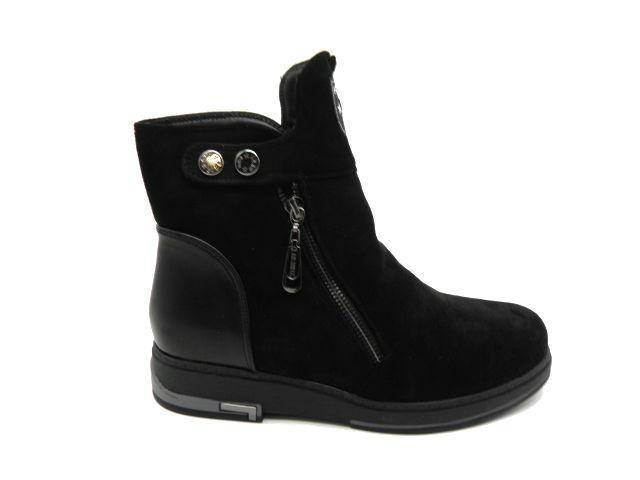 Черевики * жіночі Stefenni Fashion 1558-3 чорний зимові