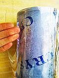 Пленка ПВХ Гибкое стекло. 1000 мкм (1мм) плотность. Ширина 140см. Рулон 15м. Прозрачная. Crystal, фото 8