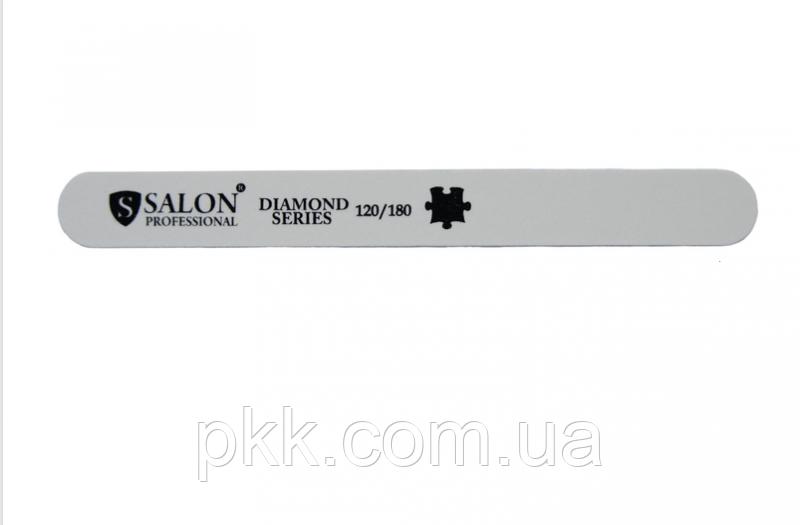 Полировка для ногтей SALON PROFESSIONAL белая прямая узкая 336 SLP