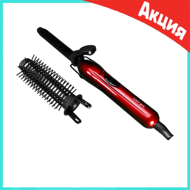 Плойка для завивки волос Gemei GM-2906 с насадкой
