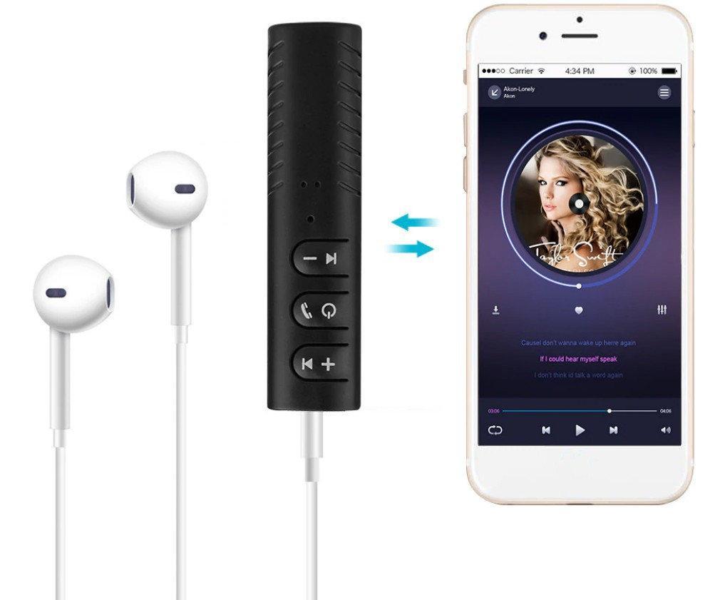 Bluetooth 4.1 - аудио приёмник (microUsb) c акб