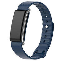 Силиконовый ремешок Primo для фитнес-браслета Huawei Color Band A2 ( AW61 ) - Dark Blue, фото 1