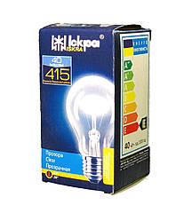 Лампа накаливания 40 Ватт, Е27 Колба А50