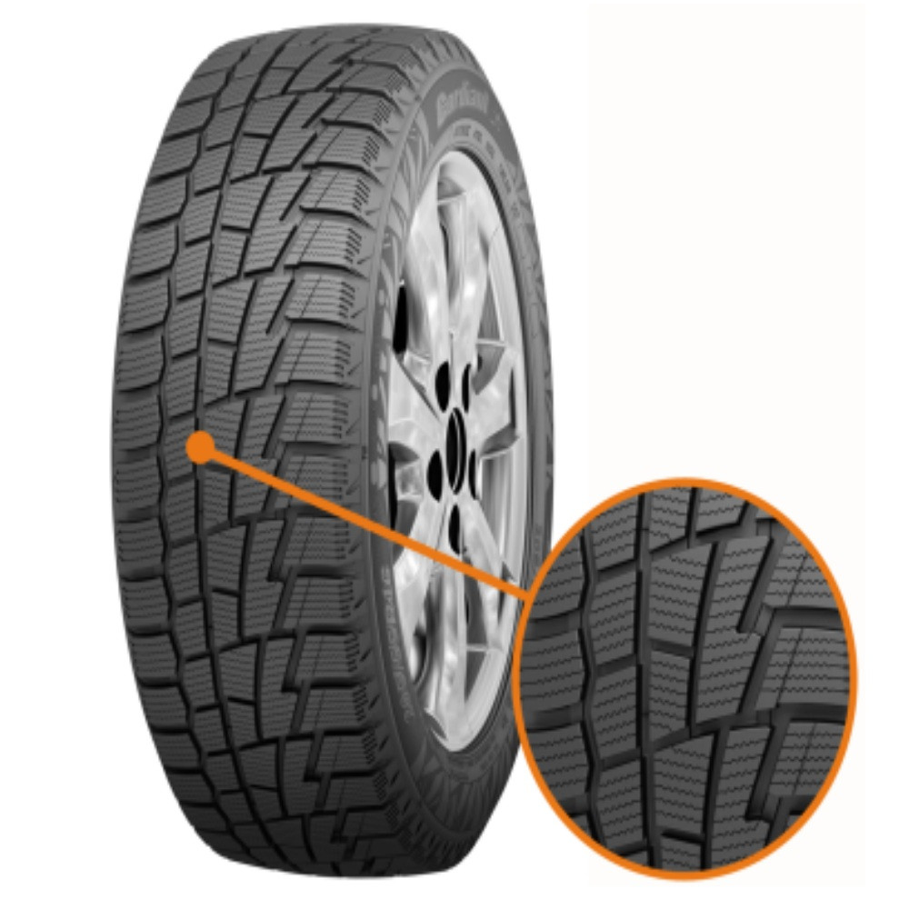 Шина 195/60R15 91T PW-1 Cordiant Winter Drive зима