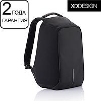 Оригинал! Гарантия 2 года. Антивор рюкзак XD Design Bobby XL anti-theft backpack 17″/Black (P705.561), черный