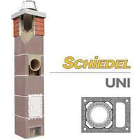 Дымоход Schiedel UNI (Шидель) - одноходовой с вентиляцией