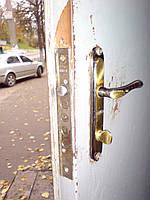 Вскрытие металлической двери