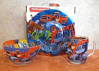 Набор детской посуды Джипы