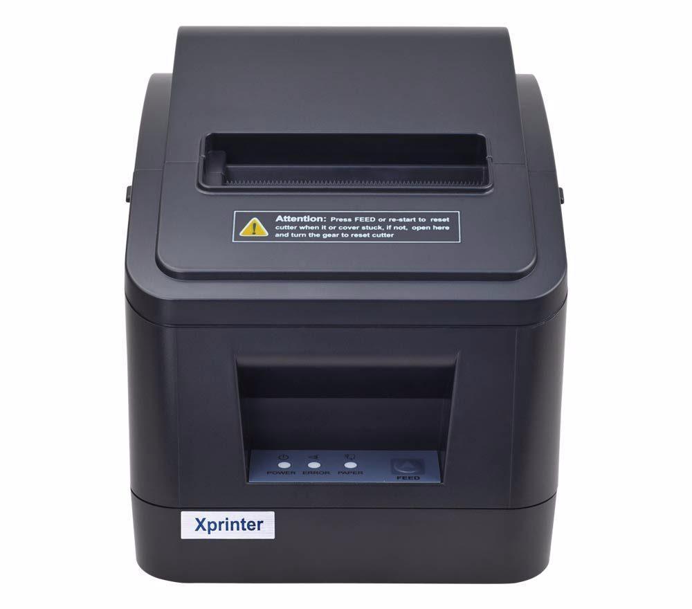 Принтер чеков XPrinter XP-V320N (USB+LAN, автообрезка)
