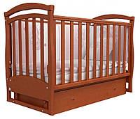 Детская кроватка Верес Соня ЛД 6 маятник+ящик (ольха)