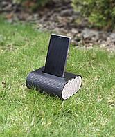 Усилитель звука для iPhone Подставка под телефон на стол Деревянная колонка Держатель для смартфона Холдер