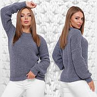 """Теплий светр оверсайз жіночий """"Максим"""", фото 1"""