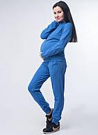 Красивый спортивный костюм кофта и брюки для беременных и кормящих