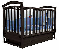 Детская кроватка Верес Соня ЛД 6 маятник+ящик (орех)
