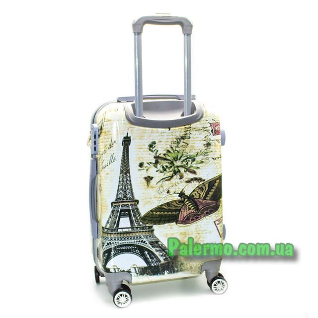 пластиковый дорожный чемодан