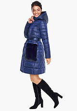 Воздуховик Braggart Angel's Fluff 31845   Куртка весна-осень женская сапфировая, фото 2