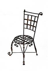 Кованый стул ручной работы каркас