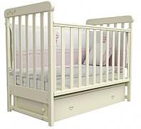 Детская кроватка Верес Соня ЛД 12 маятник+ящик (слоновая кость)
