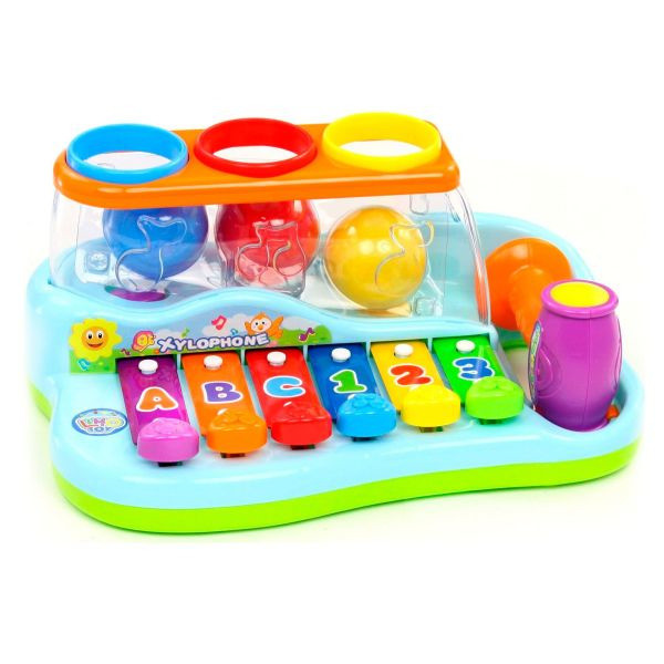 Гра ксилофон з молотком Limo Toy 9199