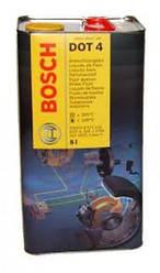 Тормозная жидкость Bosh DOT-4  5л