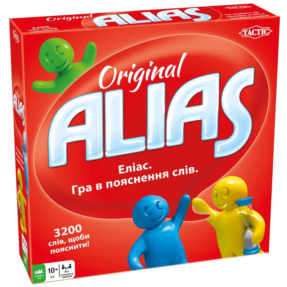 Tactic Alias Original настільна гра, головоломка для розвитку