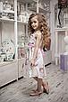 Детское платье для девочки Нарядная одежда для девочек Одежда для девочек 0-2 Byblos Италия BJ3079 Белый, фото 4