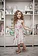 Детское платье для девочки Нарядная одежда для девочек Одежда для девочек 0-2 Byblos Италия BJ3079 Белый, фото 5