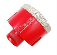 Алмазная коронка вакуумного спекания 65 мм Shdiatool (М14) УШМ
