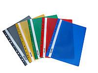 Папка скоросшиватель пластиковая А4 4OFFICE 4-270 РР цвета в ассортименте