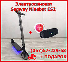 Электросамокат Ninebot Segway ES2. Электро самокат найнбот+ подарок. Электрический самокат ES2.